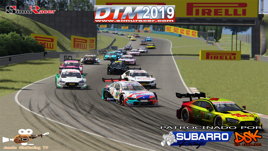 DTM 2019 - CARRERA FINAL - HUNGARORING - 01 JULIO Dtm20113