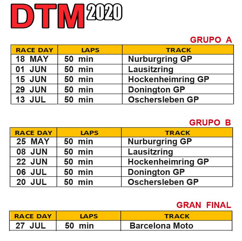 PRESENTACION DTM 2020 Dtm_ca10