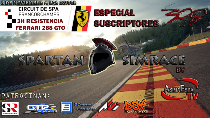 SPARTAN SIMRACE BY ASIMAESPATV Especi11