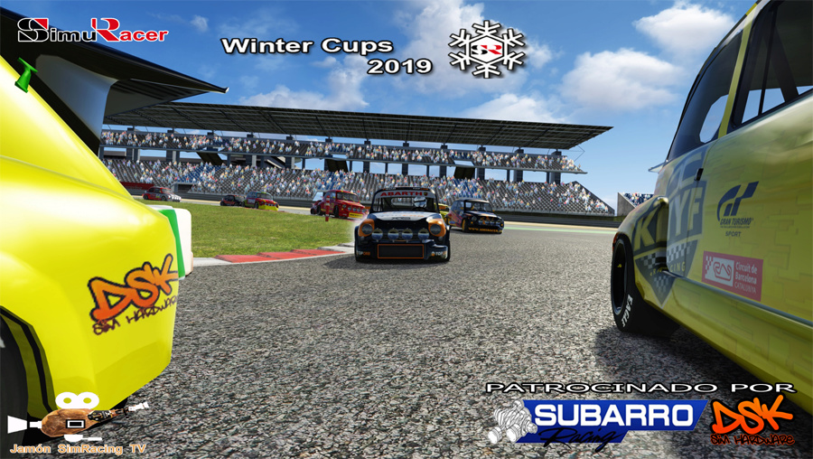 WINTERS CUPS 2019 - COPA ABARTH 1600 - FINAL NURBURGRING 15 ABRIL Wcupsa11