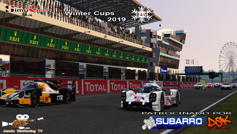 WINTERS CUPS 2019 - SIMUWEC - FINAL - LE MANS 13 MAYO Wcupss13