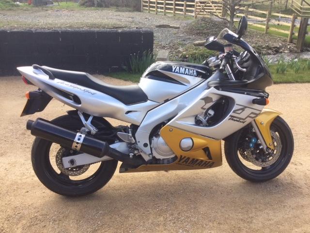 For Sale Gold and grey Yamaha Thundercat W Reg Image110