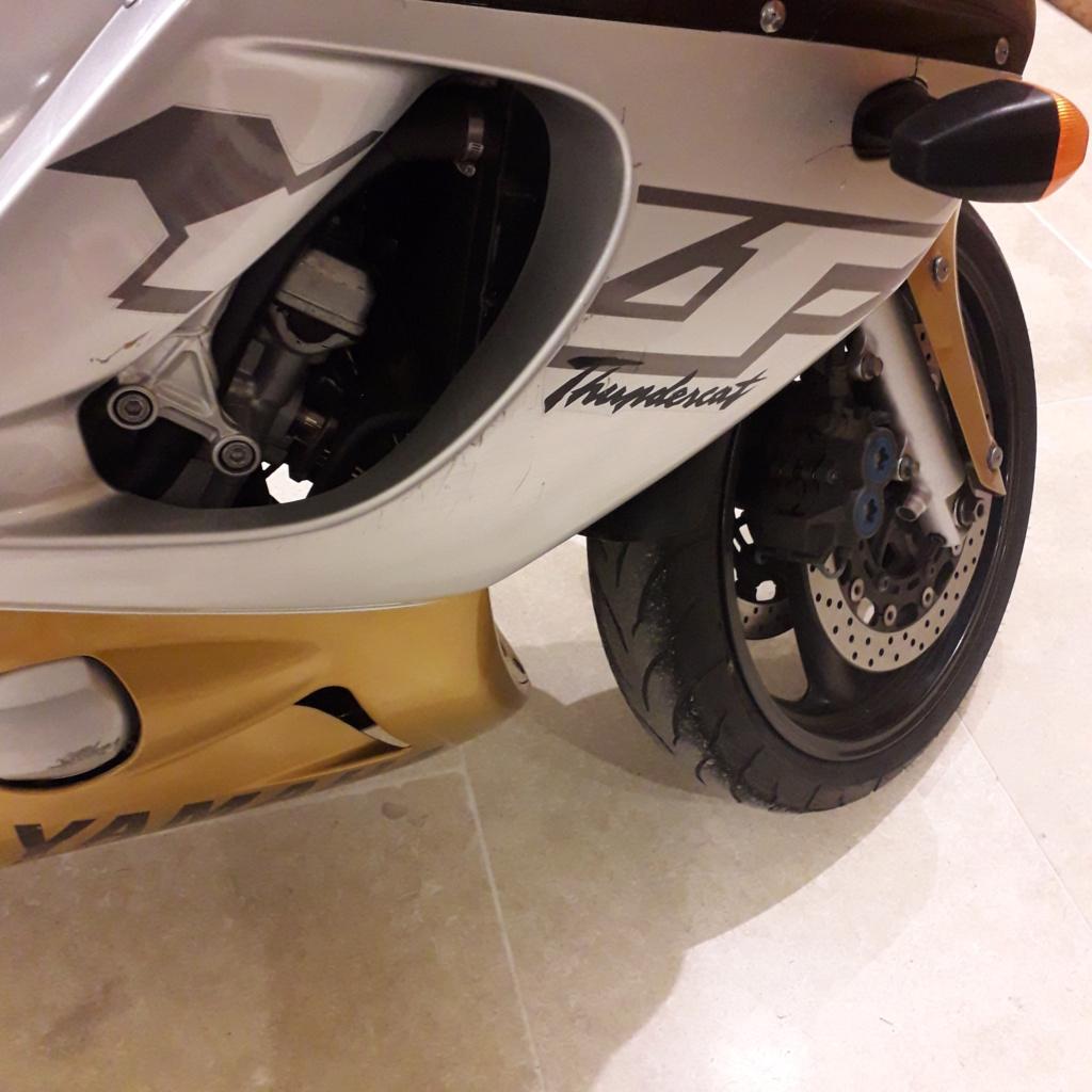 For Sale Gold and grey Yamaha Thundercat W Reg Some_c13