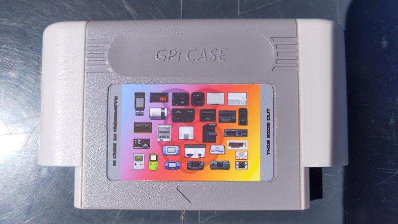 [VDS] Stickers Repositionnable pour Retroflag GPI Case Img_2016