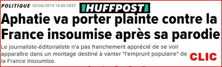 Aphatie va porter plainte contre la France insoumise Aphati18