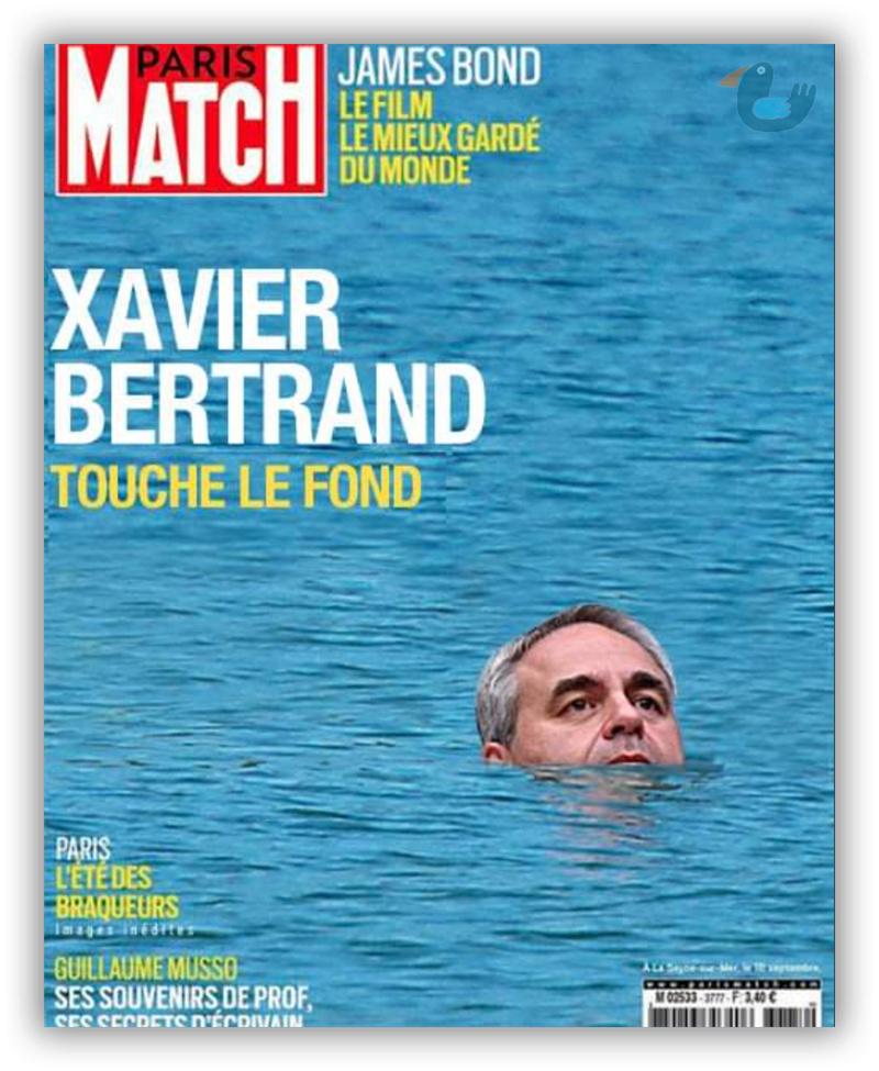 Variations sur la dernière une de Paris Match Bertra10