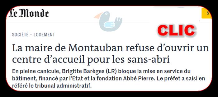 La maire de Montauban refuse d'ouvrir un centre d'accueil pour les sans-abri Brigit10