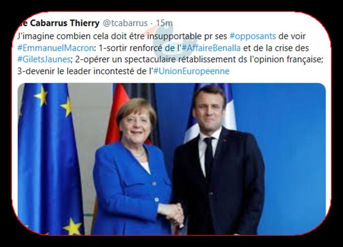 Le Président Macron Cabarr10