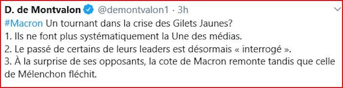 #Macron - Un tournant dans la crise des Gilets Jaunes?  Dmontv10