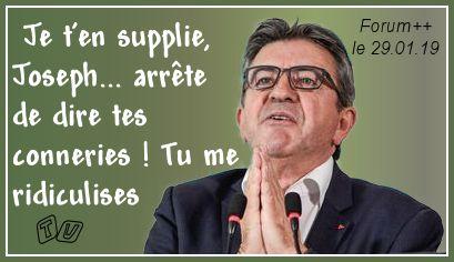 Mélanchon soutient Maduro....... Joseph10
