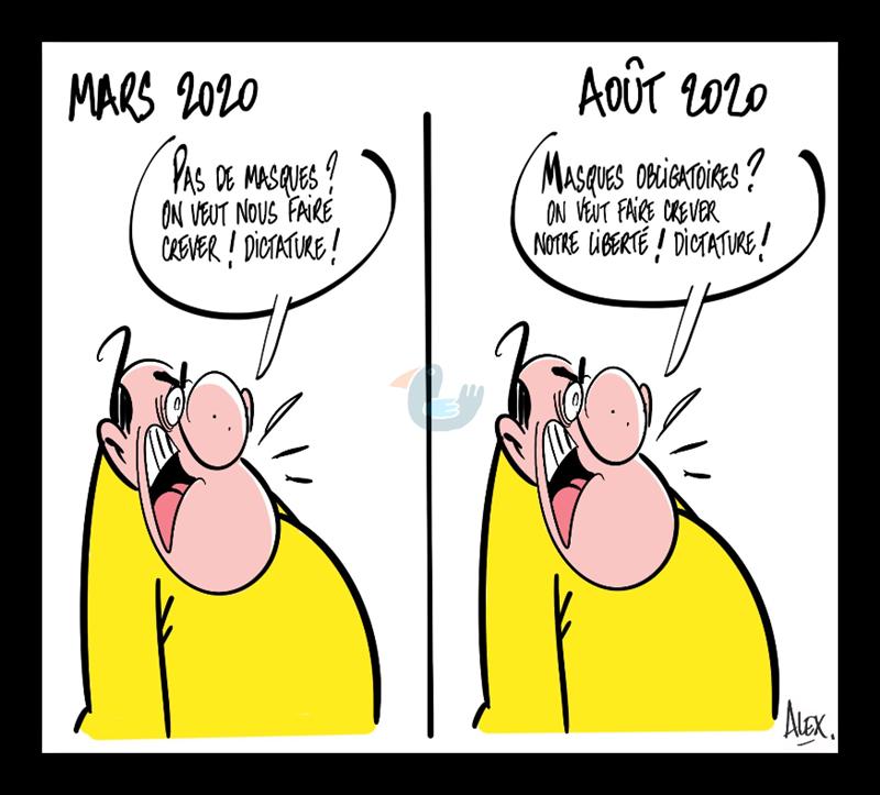 La  tête du Brésil est malade Masque11