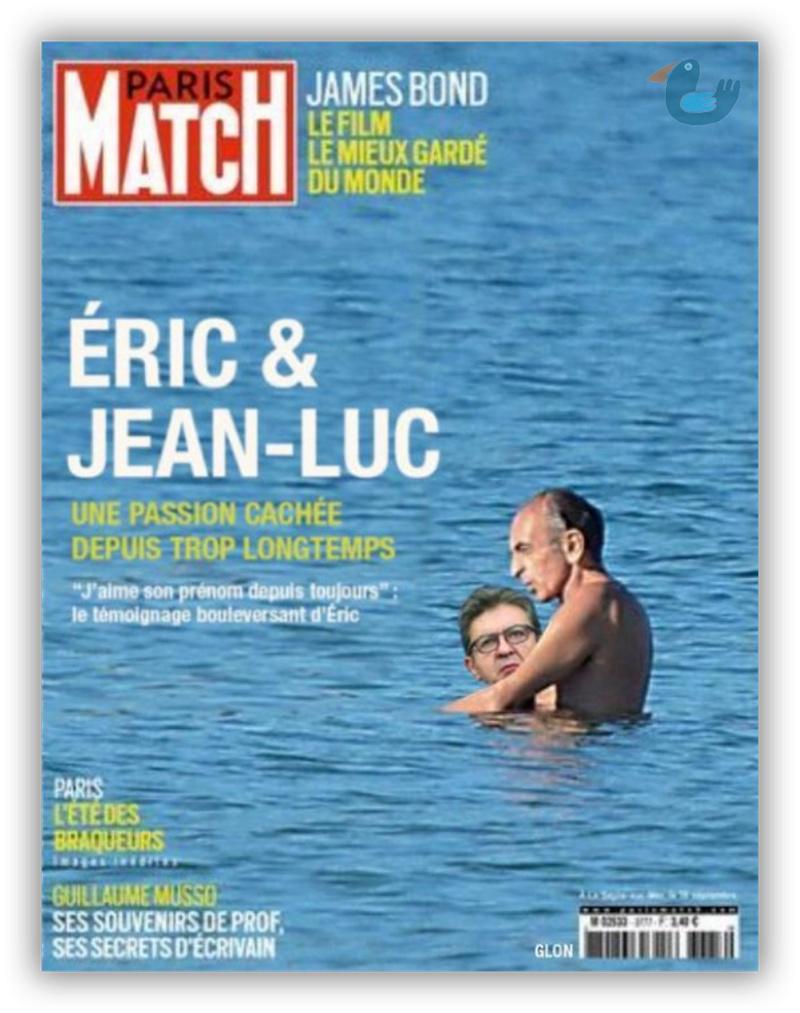 Variations sur la dernière une de Paris Match Melanc10