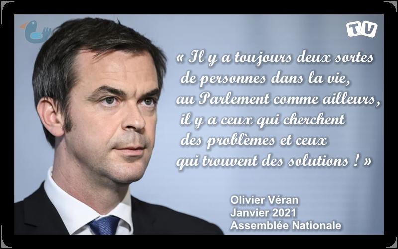 Olivier Véran dénonce avec force les critiques stériles et les postures démagogiques des oppositions Overan11