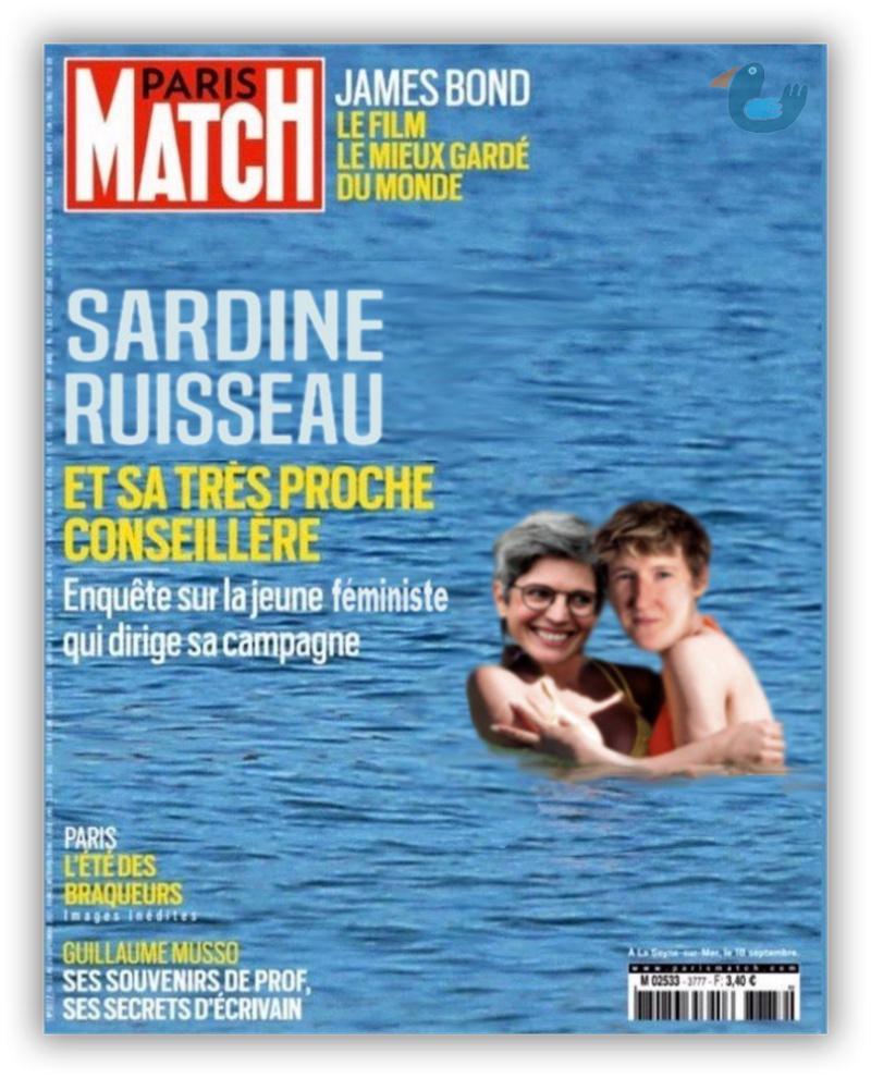Variations sur la dernière une de Paris Match Rousse10