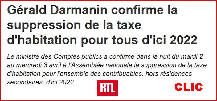 Suppression de la taxe d'habitation pour tous d'ici 2022 Suppre10
