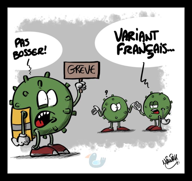 Attention au variant francais Varian10