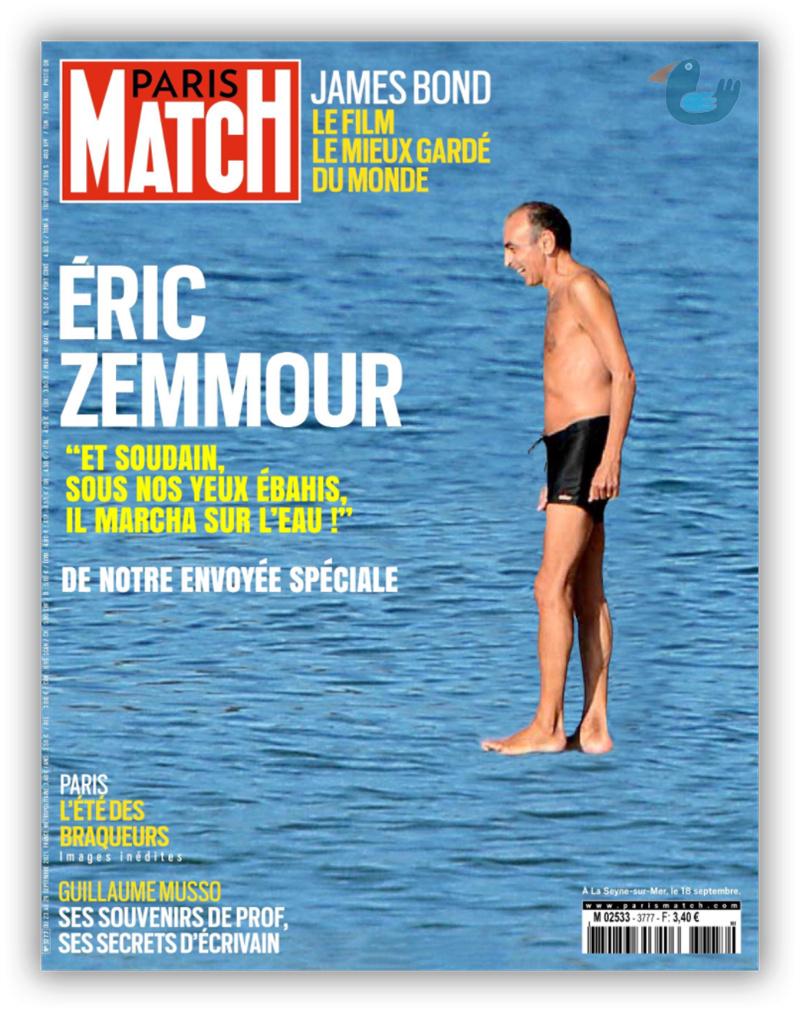 Variations sur la dernière une de Paris Match Zemmou10