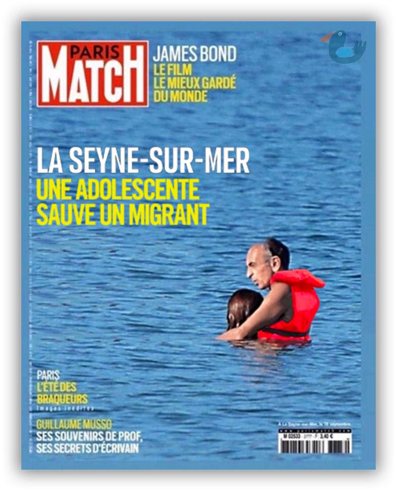 Variations sur la dernière une de Paris Match Zemmou11