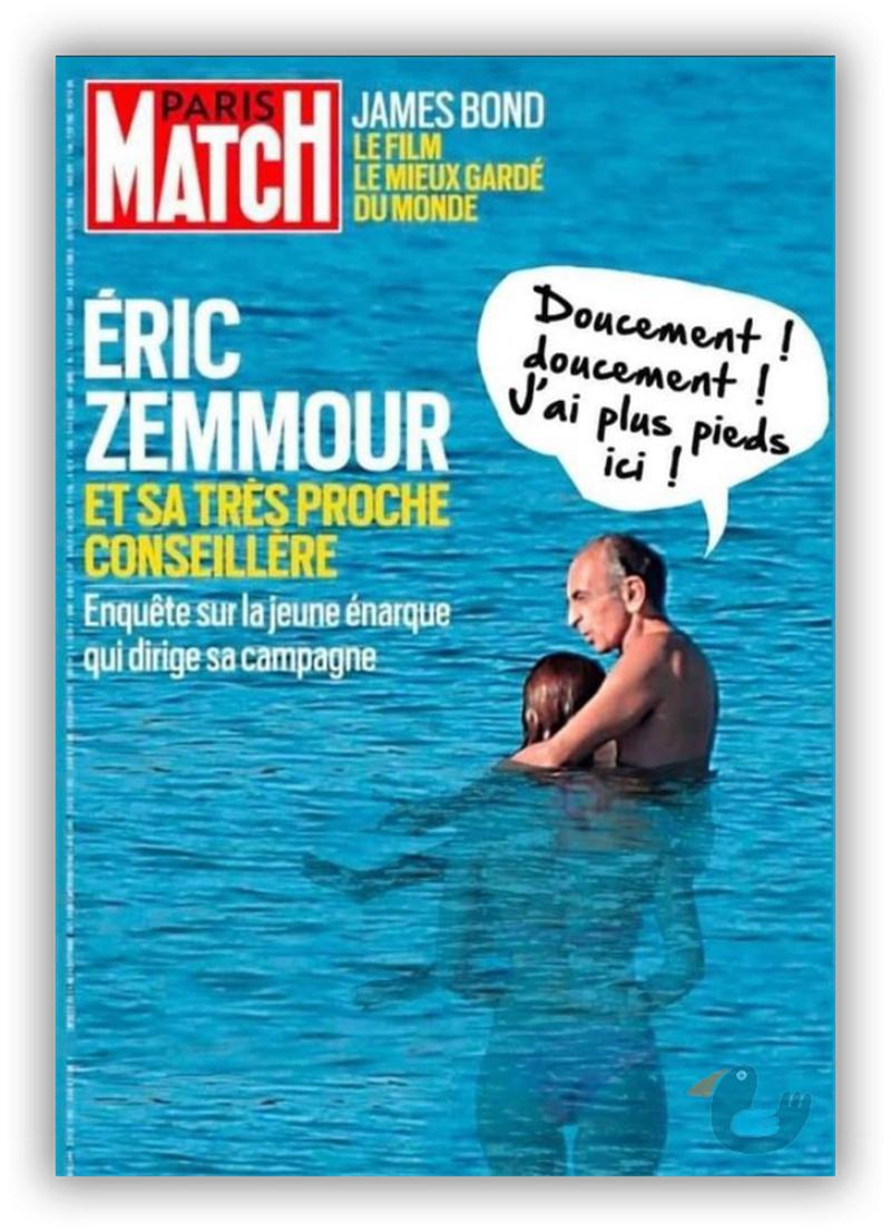 Variations sur la dernière une de Paris Match Zemmou12