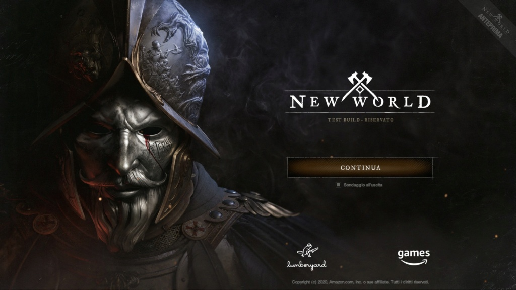 NEW WORLD: L'INIZIO DELL'AVVENTURA - PRIMO APPROCCIO AL GAME 20200810