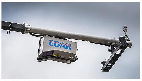 EDAR: radars capables de détecter et mesurer à distance les  Edar10