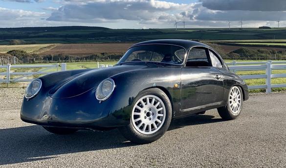 WEVC: un coupé électrique qui ressemble à Porsche 356 A P10