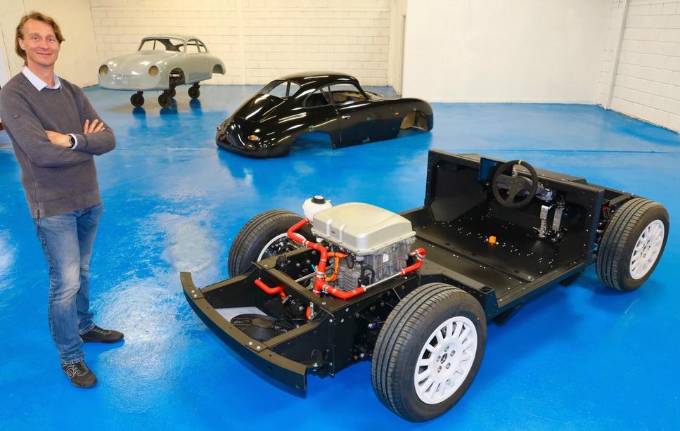 WEVC: un coupé électrique qui ressemble à Porsche 356 A P210