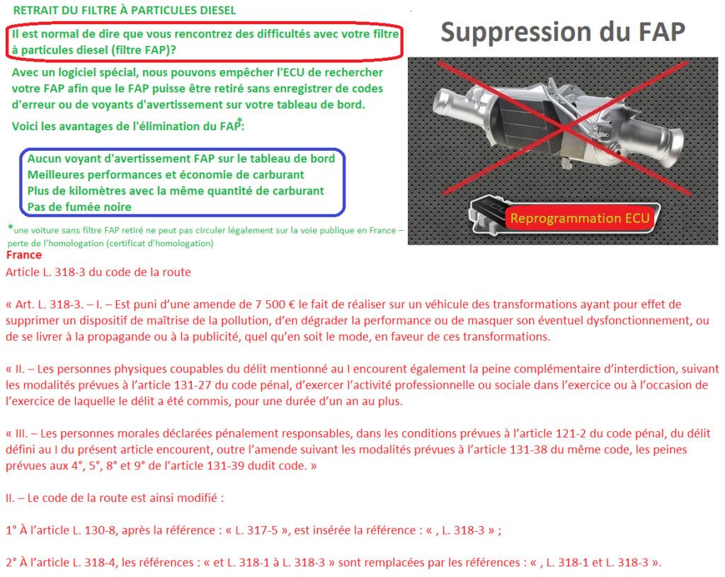 Filtres à particules et carte rouge au contrôle technique  Suppre10