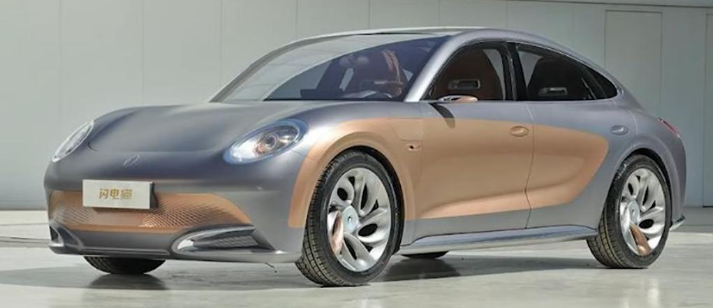 Des voitures électriques qui vous font penser à d'autres... Vech10