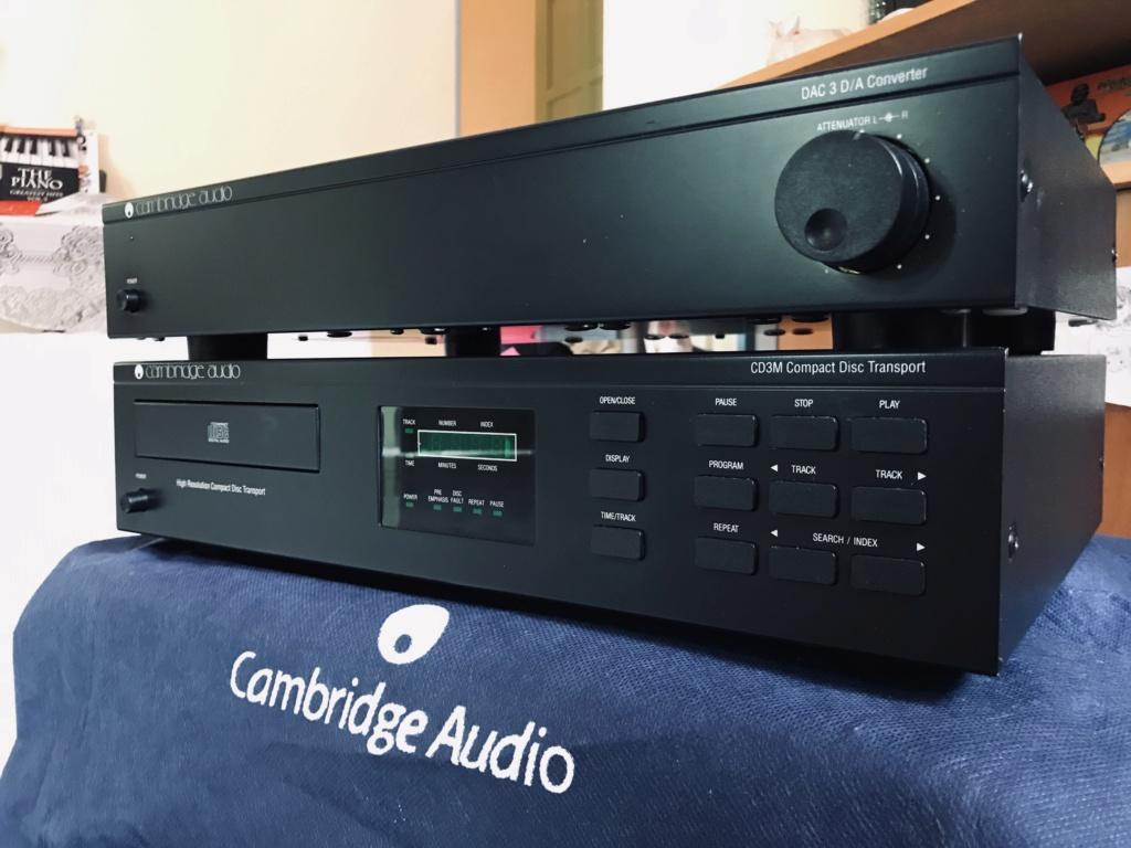 Cambridge Audio 4xTDA1541aS1 Dac & Cd3m Cd Transport 17495210