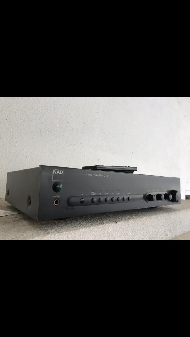 NAD C160 Pre Amplifier  5b179510
