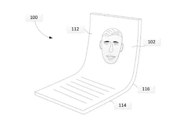 Google brevetta il suo schermo pieghevole Google12