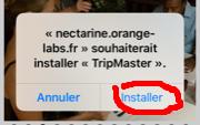 Application tripmaster Odometre Instal10