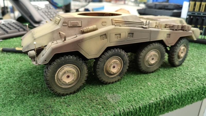 Puma Sd.Kfz. 234/2 Metal Origin 1:16 WIP Img-2025