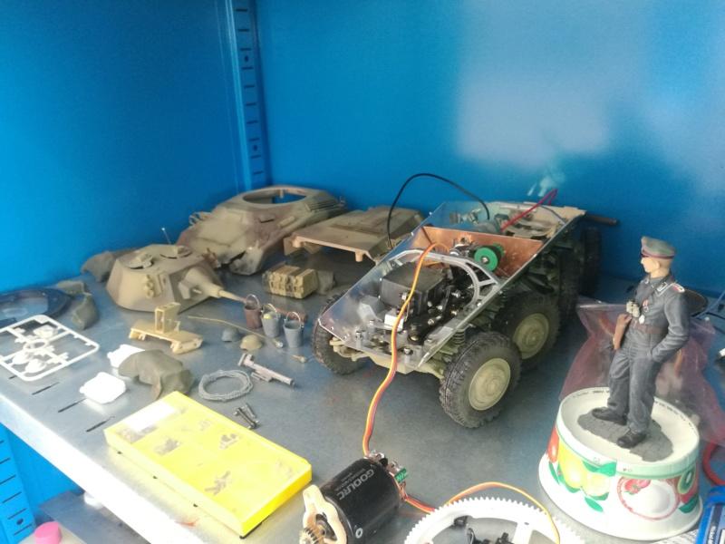 Puma Sd.Kfz. 234/2 Metal Origin 1:16 WIP Img_2473