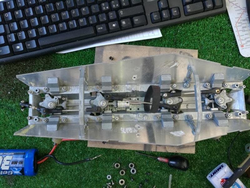 Puma Sd.Kfz. 234/2 Metal Origin 1:16 WIP Img_2478