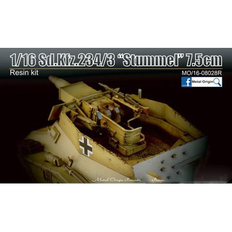 Puma Sd.Kfz. 234/2 Metal Origin 1:16 WIP Stumme12