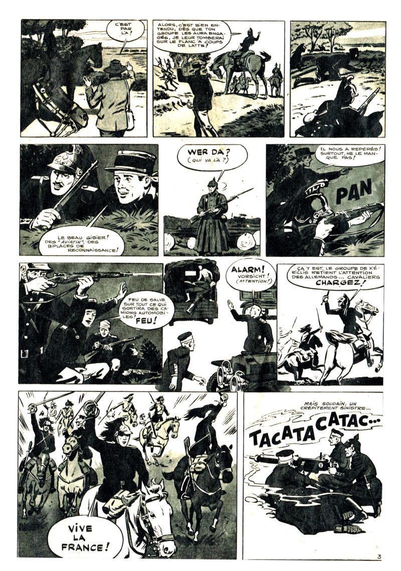 L'héroïque exploit des dragons de Gironde * dans la nuit du  10 septembre 1914  (* Gironde est le nom du lieutenant Gironde) Dragon12