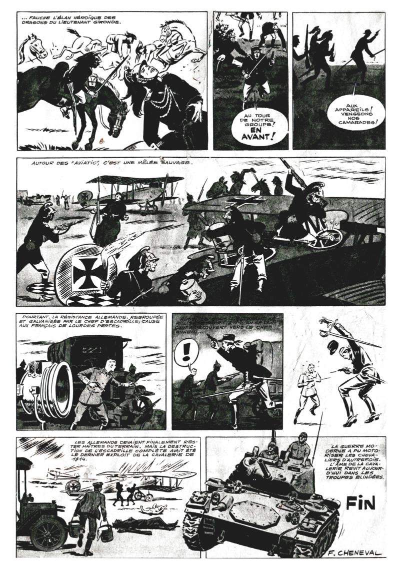 L'héroïque exploit des dragons de Gironde * dans la nuit du  10 septembre 1914  (* Gironde est le nom du lieutenant Gironde) Dragon13