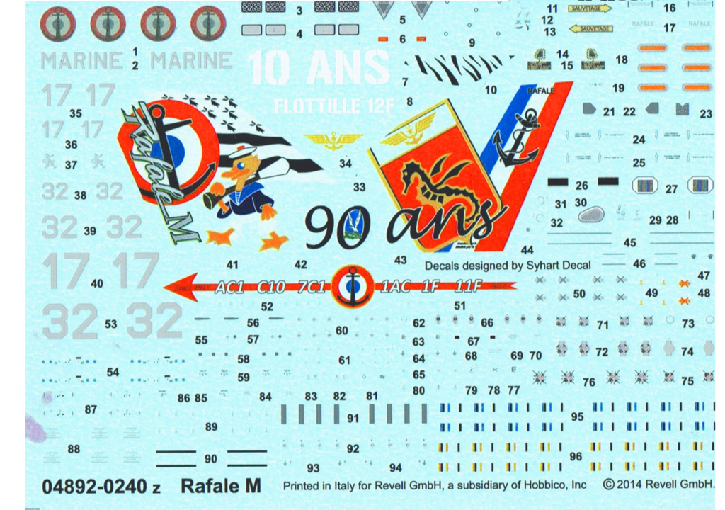 DASSAULT RAFALE A Réf 80320 Rafal_10