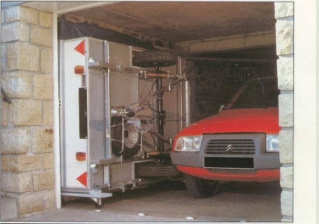 Chariots de remisage caravane pliante rapido Chario10