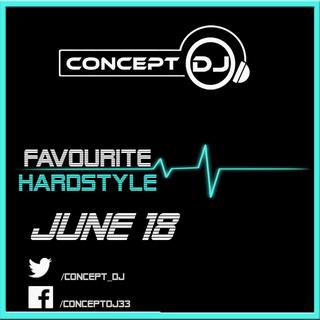 Concept - Favourite Hardstyle June 18 (15-06-2018) Hardst10