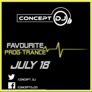 Concept - Favourite Prog-Trance July 18 (11-07-2018) Prog-t10