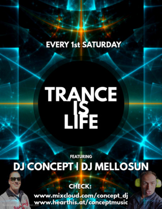 Trance is Life EP 007 - Concept & Mellosun Live (11.04.2021) Trance13