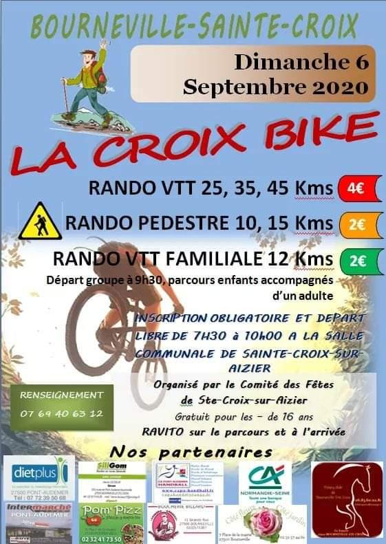 """[Dimanche 6 septembre 2020] """"La Croix Bike"""" à Bourneville Sainte-Croix (27) Fb_img10"""