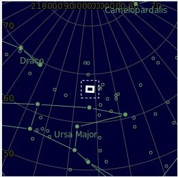 La comète Atlas arrive Chrome10
