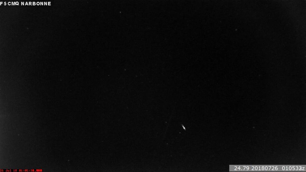 Perséides 2018 ça y est ! - 14/07 - 1h36:01 UT Meteor18