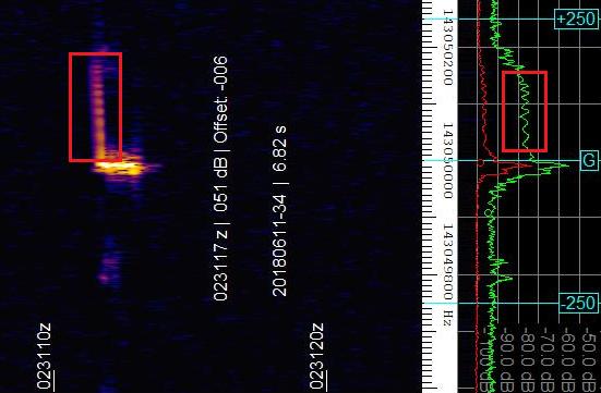 Echos radio des météores - nouveau groupe Facebook Rundll11