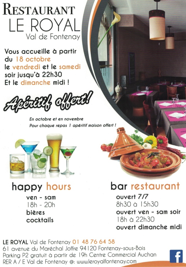 Restaurant Le Royal - Centre commercial Val de Fontenay Royal10