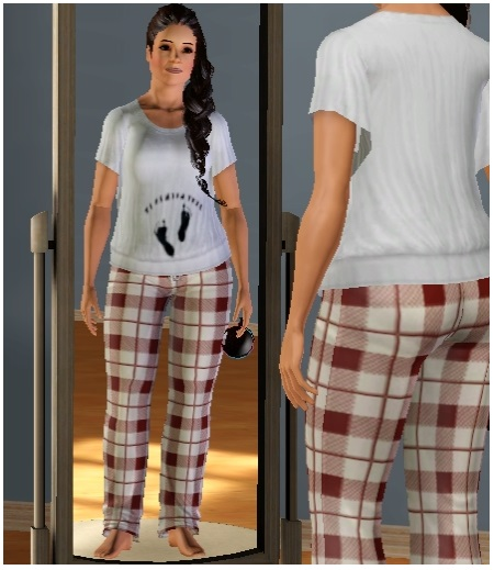 Sims Self- poppy flower Z210